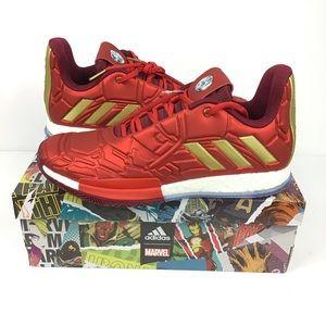Adidas James Harden Vol 3 Ironman Marvel Shoes